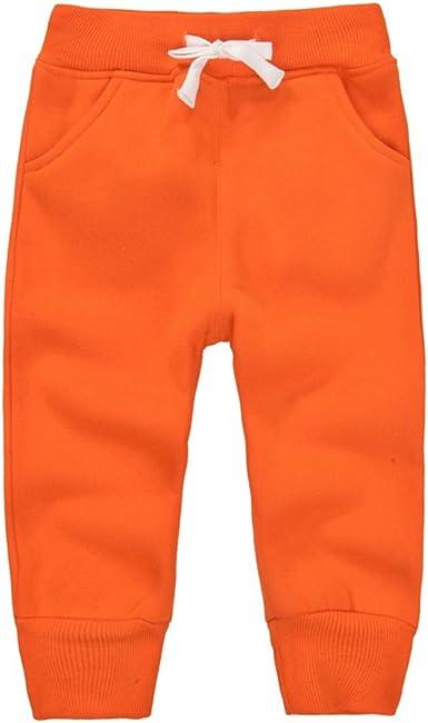 CuteOn Unisexo niños Elástico Cintura Algodón Calentar Pantalones Bebé Trousers Bottoms 1-5 Años: Amazon.es: Ropa y accesorios