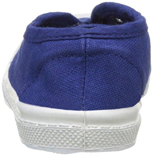 Bensimon Tennis Elly Enfant - Zapatillas de Deporte de canvas Infantil Azul (Bleu Vif)