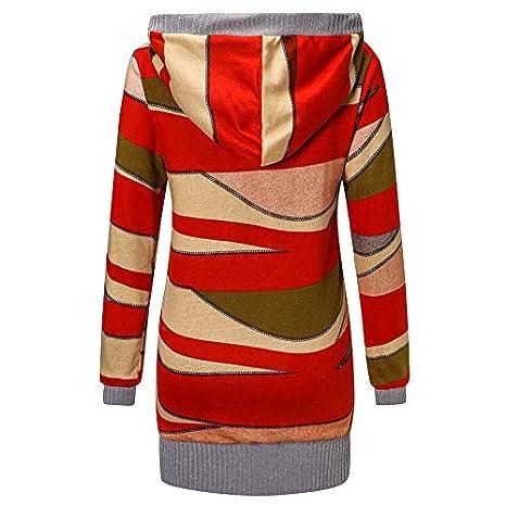 Linlink Moda Casual Mujer Imprimir Invierno Cálido Parka Outwear Abrigo Outercoat: Amazon.es: Ropa y accesorios