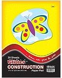 Bazic 25 Count 9'' x 12'' Glitter Construction Paper 48 pcs sku# 315137MA