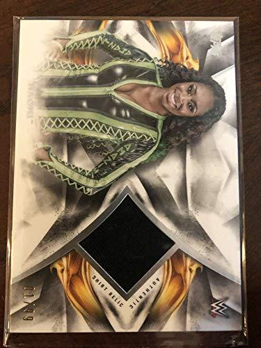 2019 WWE Undisputed Relic #UR-NM Naomi MEM SERS99 WWE Official Topps Wrestling Card from WWE Undisputed Wrestling