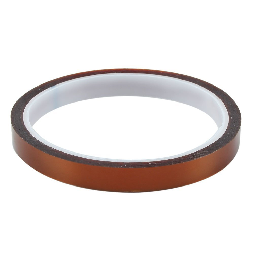 1 Roll 10mm 33m kapton Adhesive High Temperature Heat Resistant Polyimide film Tape styleinside