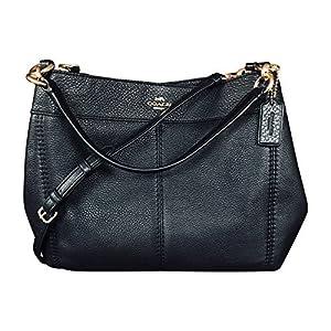 Coach Pebbled Leather Small Lexy Shoulder Bag Handbag