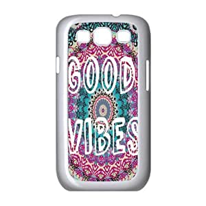 Good Vibes Original New Print DIY Phone Case for Samsung Galaxy S3 I9300,personalized case cover ygtg582107