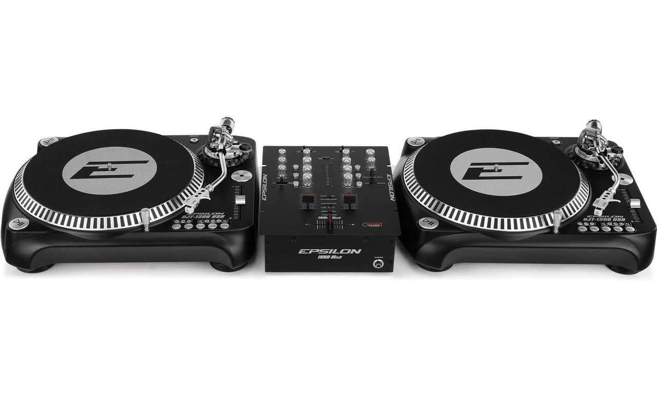 DJ Starter – 2 x Epsilon Tocadiscos + Epsilon 2 de canal Licuadora ...