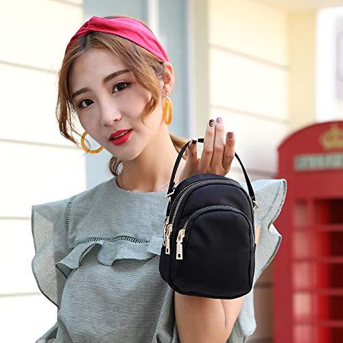 Zaini mobili Blu per Bag donna borse borse Borse le Messenger Borse WEILLCCE Womens mini folla donne spalla wtfdqadn