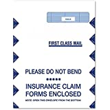 """ComplyRight CMS-1500 9""""X 121/2"""" Jumbo Right Window Envelope, Self Seal, 500-Count (1500RS)"""