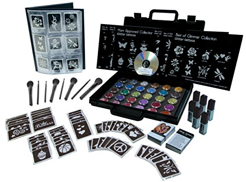Glimmer Body Art Temporary Tattoo Pro Party Kit from Glimmer Body Art