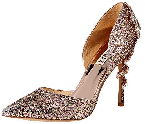 Badgley Mischka Women's Vogue III Pump Rose Gold/Multi 7 M ()