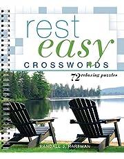 Rest Easy Crosswords: 72 Relaxing Puzzles