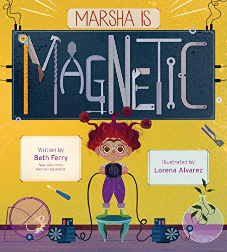 Book Cover: Marsha Is Magnetic