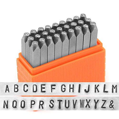 ImpressArt Basic Metal Stamp Set, Uppercase, 3mm -