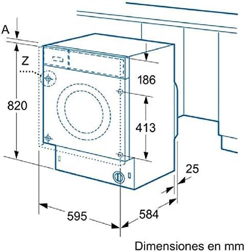 Balay 3TI771B Integrado Carga frontal 7kg 800RPM A+ Blanco ...