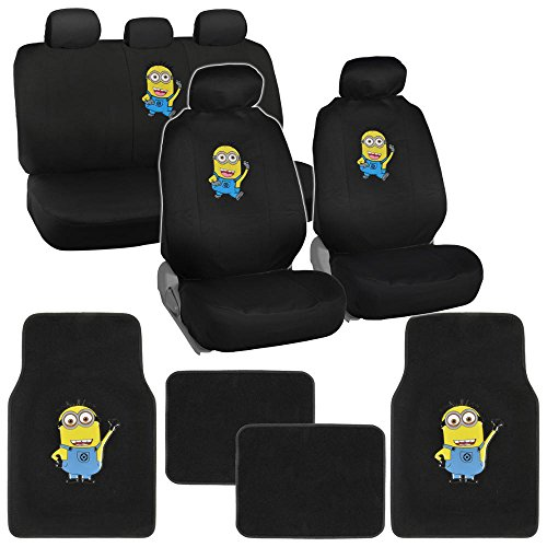 Despicable Me Minions Car Seat Covers Floor Mats