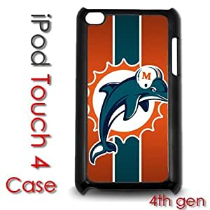 IPod Touch 4 4th gen Touch Plastic Case - Miami Dolphins Football NFL
