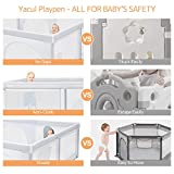 Yacul Baby Playpen Activity Mat