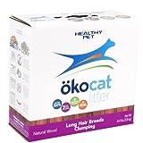 ökocat Natural Wood Cat Litter, 8.4-Pound, Clumping for Long Hair Breeds
