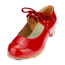 Child PU Slip on Tap Dance Shoes