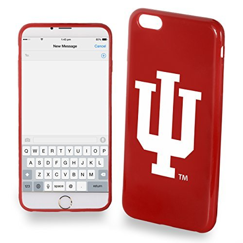 Indiana Hoosiers iPhone 6/6s TPU Silicone Soft Protective Slim Case by Forever