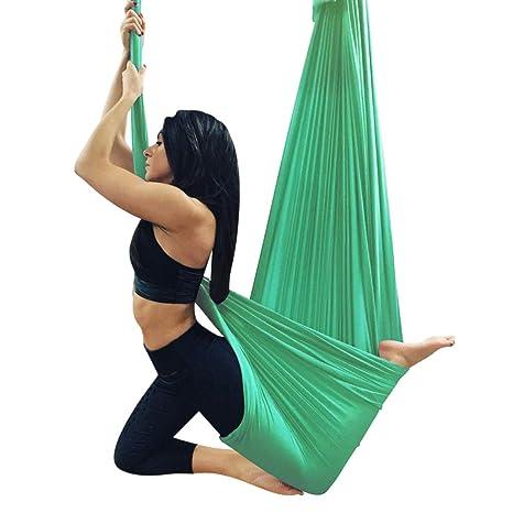 NFNFUNNM Yoga Hamaca Antena De Yoga Elasticidad Correa Sling ...