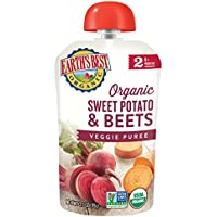 12-Pack Earths Best Organic Stage 2 Sweet Potato & Beets Pouch (3.5 Ounce)