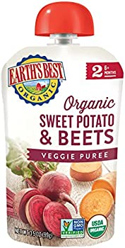 12-Pk. Earths Best Organic Sweet Potato & Beets