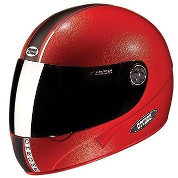 71a3c19b Studds Chrome Eco Helmet With Mirror Visor (Red, M): Amazon.in: Car &  Motorbike