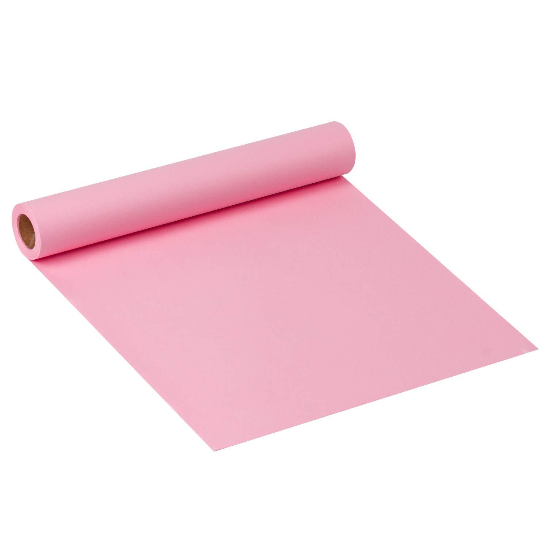 Papel Pesado De 32.8 Pies Cuadrados Para Papel De Regalo Peque/ño Hecho A Mano 30.5 Cm X 10 M Por Rollo RUSPEPA Pink Kraft Arts Paper School Craft Projects