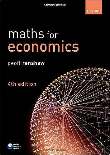 Maths for Economics , 4th Edition - Original PDF