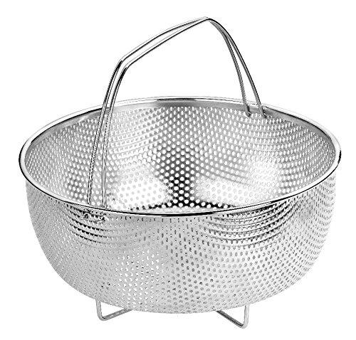 BRA - Cestillo multiusos de acero inoxidable para una cocina al vapor. product image