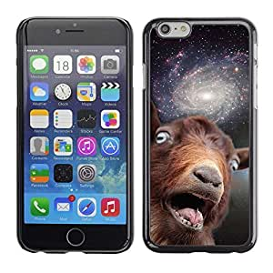 "Wishing A-type Colorful Printed Hard Protective Back Case Cover Shell Skin for 4.7"" iPhone 6 ( Funny Space Goat Meme )"