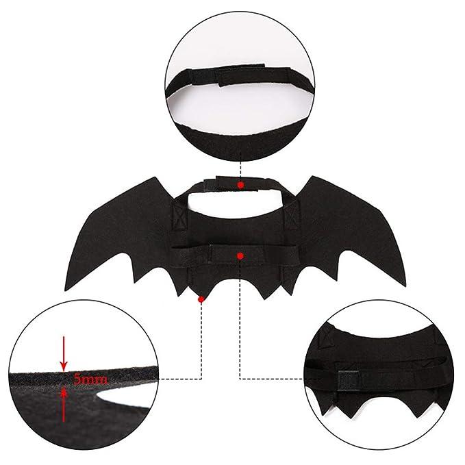 RXQEE Disfraz De Halloween para Perro Ajuste De Hebilla Diseño De ...