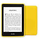 Young me Kindle Paperwhite Cover - Slim Fit TPU Gel Protective Case Cover for All-New Amazon Kindle Paperwhite (Fits All versions: 2012, 2013, 2014 and 2015 New 300 PPI), Yellow