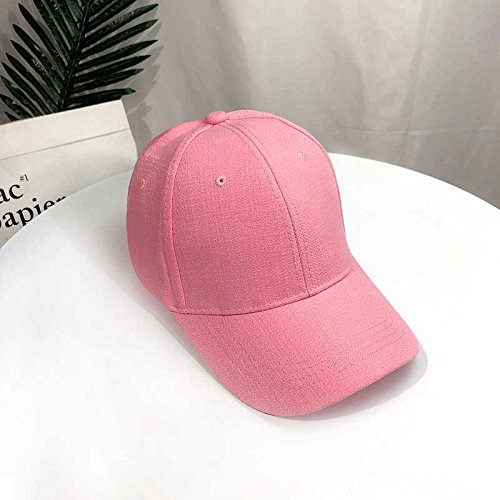 - OLQMY Cap wild youth Hip Hop baseball cap Bubblegum Pink
