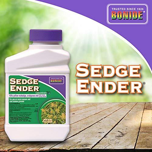 Bonide (BND069) - Sedge Ender Weed Control Concentrate, Weed Killer (16 oz.)