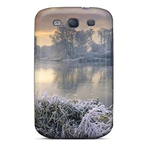 New Frozen L Tpu Case Cover, Anti-scratch AlfredJWhite Phone Case For Galaxy S3