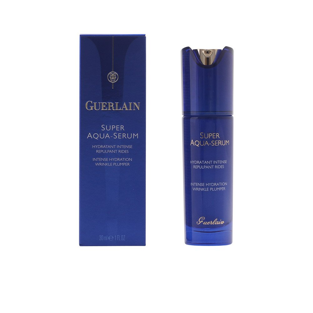 guerlain super aqua intense hydration wrinkle plumper serum for unisex, 1 ounce Coconut Water Firming Facial Cleanser - 5.5 fl. oz. by Andalou Naturals (pack of 4)
