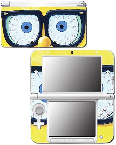 Spongebob Squarepants Sponge Bob Patrick Glasses Cartoon Video Game Vinyl Decal Skin Sticker Cover for Original Nintendo 3DS XL System