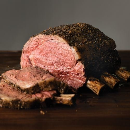 Omaha Steaks 4 lbs. Bone-In Frenched Prime Rib Roast Frenched Rib