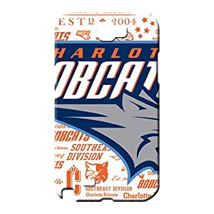 samsung note 2 Excellent Protector series mobile phone back case charlotte bobcats