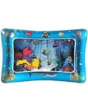 Decdeal Tapis d'eau Gonflable de bébé, Centre de Jeu d'activité d'amusement d'activité d'enfant en Bas âge de Tapis de Ventre de Ventre