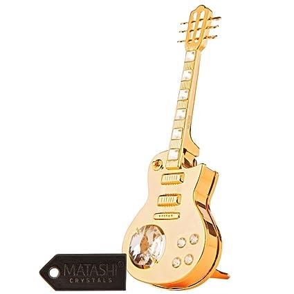 24 K plateada de la caja de la aleación de adorno de la guitarra eléctrica fabricadas