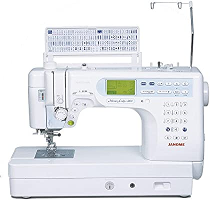 Janome - MC6600P Profesional: Amazon.es: Hogar
