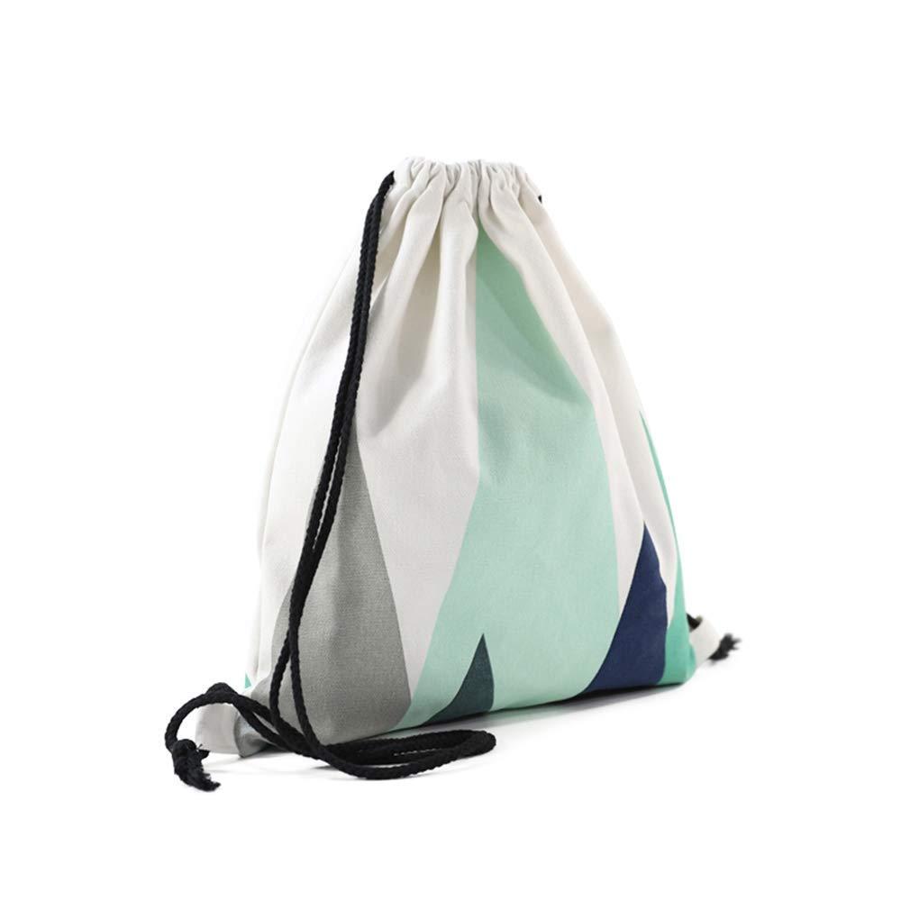 Nacnic Mochila de Asas con diseño. Hecha con Tejido Resistente de algodón. Color Azul: Amazon.es: Hogar