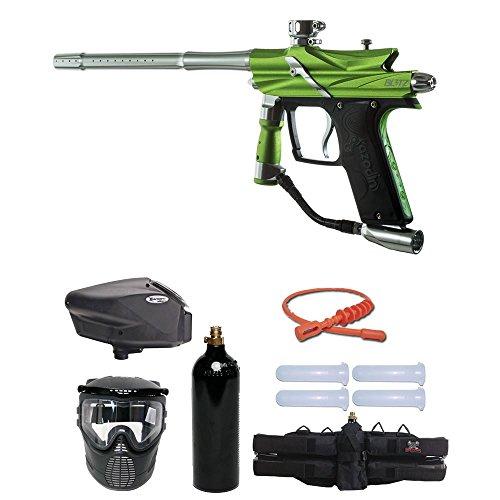 MAddog Azodin Blitz 3 Gold Paintball Gun Package - Green ()