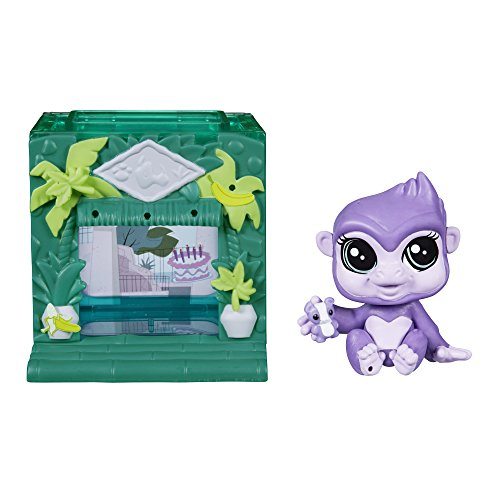 Littlest Pet Shop Mini Style Set Gorilla Pet