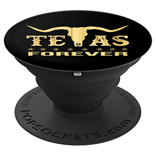 Texas Forever - PopSockets Grip and Stand for Phones and Tablets ()