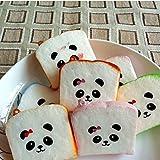 Great Deal(TM) 1PCS Mini Color Random Squishy Soft Panda Bread Phone Strap