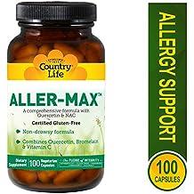 Country Life Aller-Max, Vegetarian Capsules, 100-Count