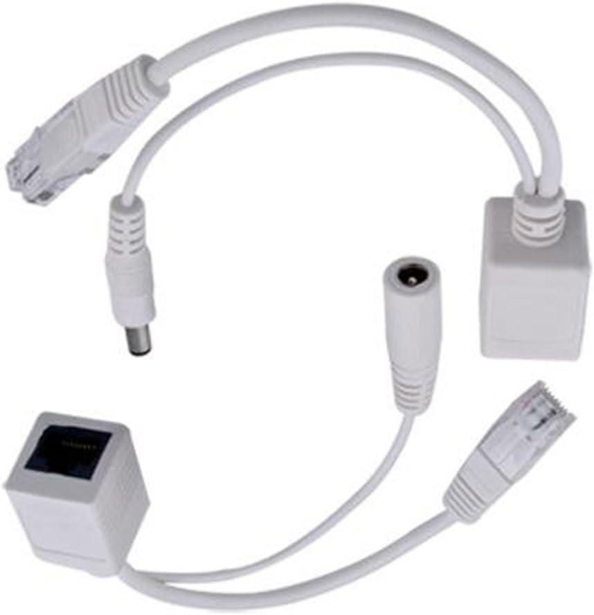 Joylive Poe Power Over Ethernet Injector Splitter Cable Kit For Ip Telephones Cameras